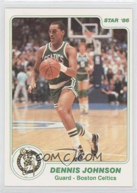 1985-86 Star #97.1 - Dennis Johnson (White Border)