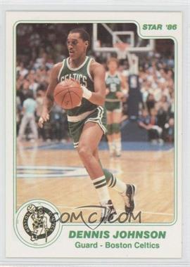 1985-86 Star #97.1 - Dennis Johnson (White Border)