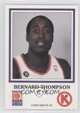 1986-87 Circle K Phoenix Suns [???] #7 - Bernard Thompson