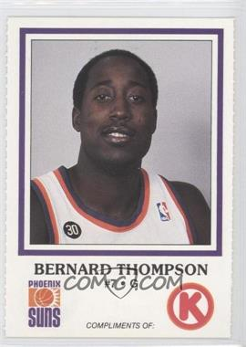 1986-87 Circle K Phoenix Suns [???] #N/A - Bernard Thompson