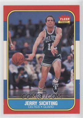 1986-87 Fleer - [Base] #101 - Jerry Sichting