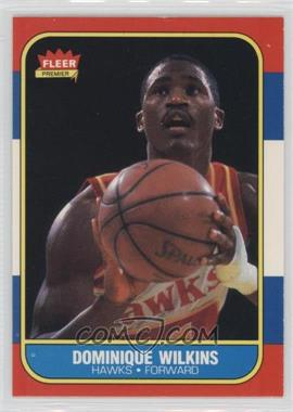 1986-87 Fleer - [Base] #121 - Dominique Wilkins
