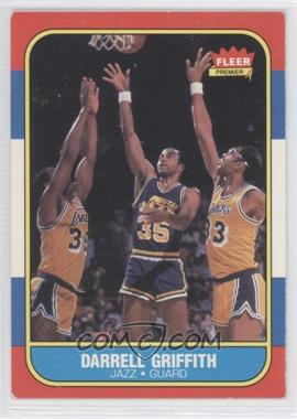 1986-87 Fleer - [Base] #42 - Darrell Griffith