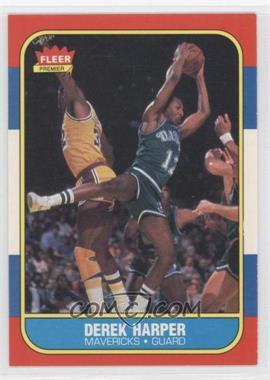 1986-87 Fleer - [Base] #44 - Derek Harper