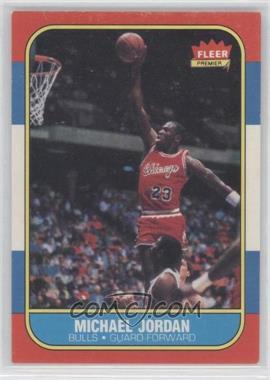 1986-87 Fleer - [Base] #57 - Michael Jordan