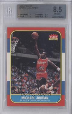 1986-87 Fleer - [Base] #57 - Michael Jordan [BGS8.5]