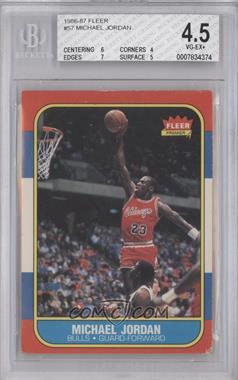 1986-87 Fleer - [Base] #57 - Michael Jordan [BGS4.5]