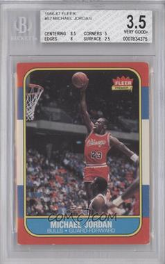 1986-87 Fleer - [Base] #57 - Michael Jordan [BGS3.5]