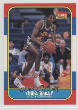 1986-87 Fleer - [Base] #6 - Thurl Bailey