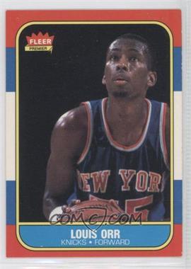 1986-87 Fleer - [Base] #83 - Louis Orr