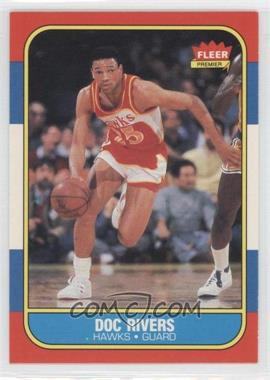 1986-87 Fleer - [Base] #91 - Doc Rivers