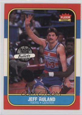 1986-87 Fleer - [Base] #96 - Jeff Ruland