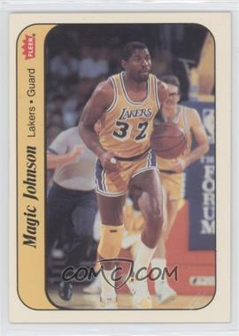 1986-87 Fleer - Stickers #7 - Magic Johnson