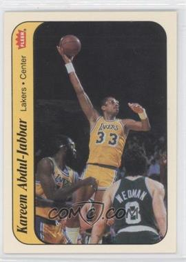 1986-87 Fleer Stickers #1 - Kareem Abdul-Jabbar