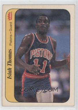 1986-87 Fleer Stickers #10 - Isiah Thomas