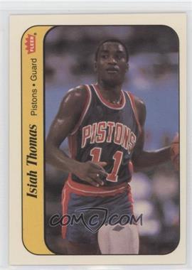 1986-87 Fleer Stickers #10 - Isiah Thomas