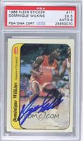 Dominique Wilkins [PSA AUTHENTIC]
