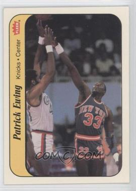 1986-87 Fleer Stickers #6 - Patrick Ewing
