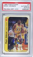 Magic Johnson [PSA AUTHENTIC]