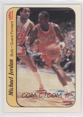 1986-87 Fleer Stickers #8 - Michael Jordan