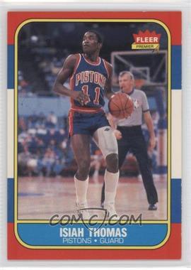 1986-87 Fleer #109 - Isiah Thomas