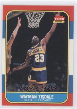 1986-87 Fleer #113 - Wayman Tisdale