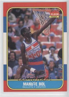 1986-87 Fleer #12 - Manute Bol