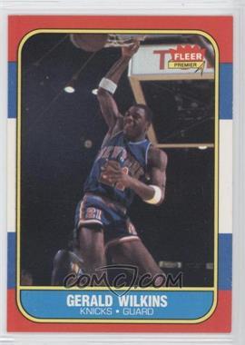 1986-87 Fleer #122 - Gerald Wilkins