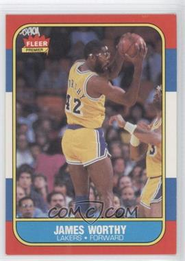 1986-87 Fleer #131 - James Worthy