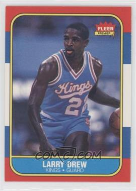 1986-87 Fleer #25 - Larry Drew