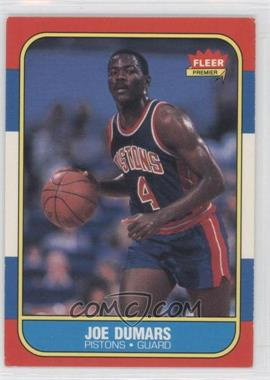 1986-87 Fleer #27 - Joe Dumars