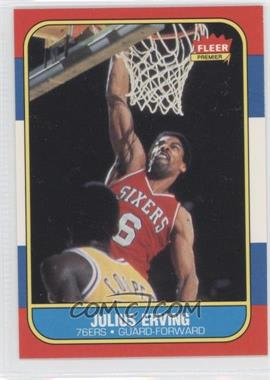 1986-87 Fleer #31 - Julius Erving