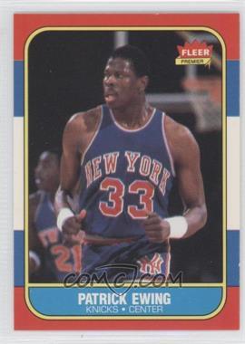 1986-87 Fleer #32 - Patrick Ewing