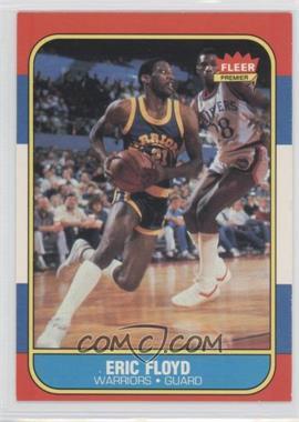1986-87 Fleer #34 - Eric Floyd