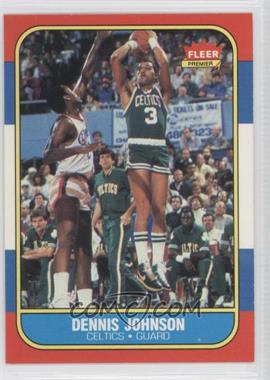 1986-87 Fleer #50 - Dennis Johnson
