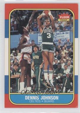 1986-87 Fleer #50 - Dennis Johnson