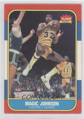1986-87 Fleer #53 - Magic Johnson