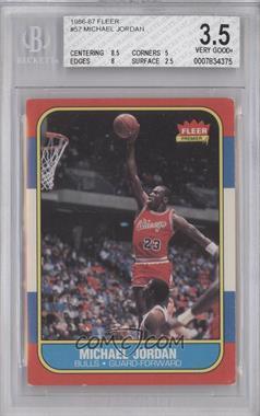 1986-87 Fleer #57 - Michael Jordan [BGS3.5]