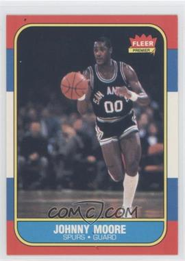 1986-87 Fleer #76 - Johnny Moore