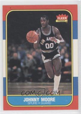 1986-87 Fleer #76 - Johnny Moore