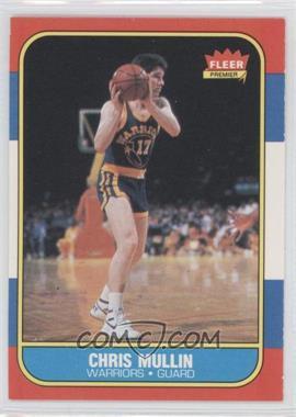 1986-87 Fleer #77 - Chris Mullin