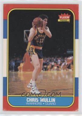 1986-87 Fleer #77 - Chris Mullin
