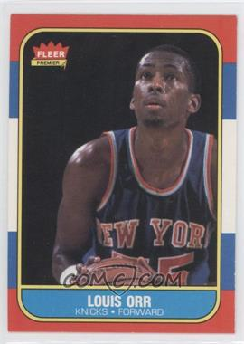 1986-87 Fleer #83 - Louis Orr