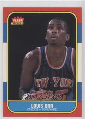 1986-87 Fleer #83 - Louis Orr