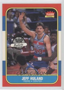 1986-87 Fleer #96 - Jeff Ruland