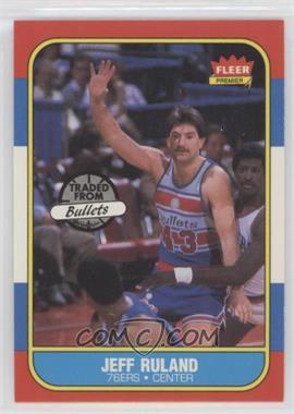 1986-87 Fleer #96 - Jeff Ruland