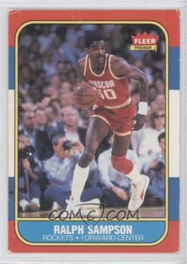 1986-87 Fleer #97 - Ralph Sampson