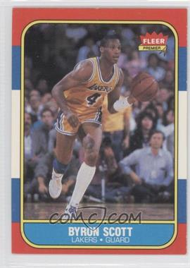1986-87 Fleer #99 - Byron Scott