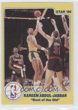 1986 Star Best of the New/Best of the Old - [Base] #N/A - Kareem Abdul-Jabbar