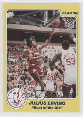 1986 Star Best of the New/Best of the Old #N/A - Julius Erving